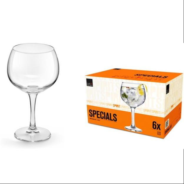 Gin Tonic glas (ZONDER drankbestelling)